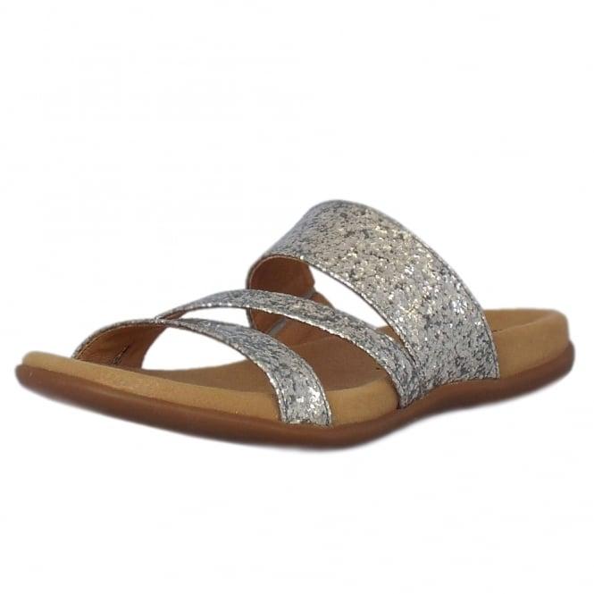 Tomcat Modern Mule Sandals in Silver