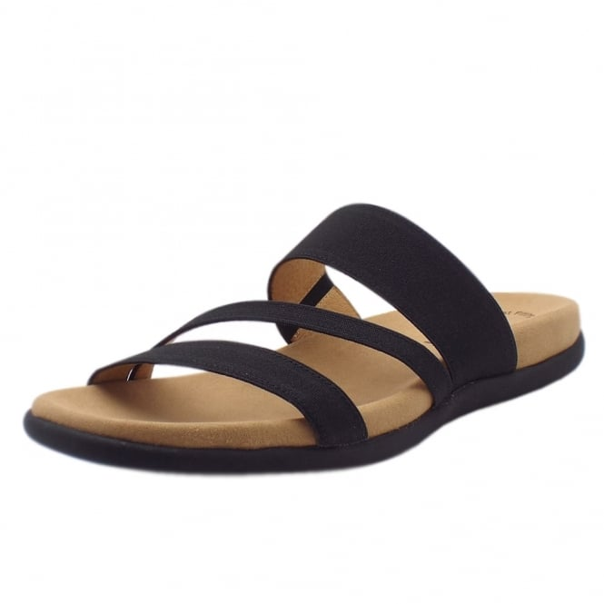 Gabor Tomcat Modern Sporty Sandals in Black