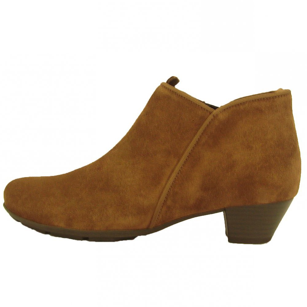 gabor boots trudy ankle boot in brown mozimo