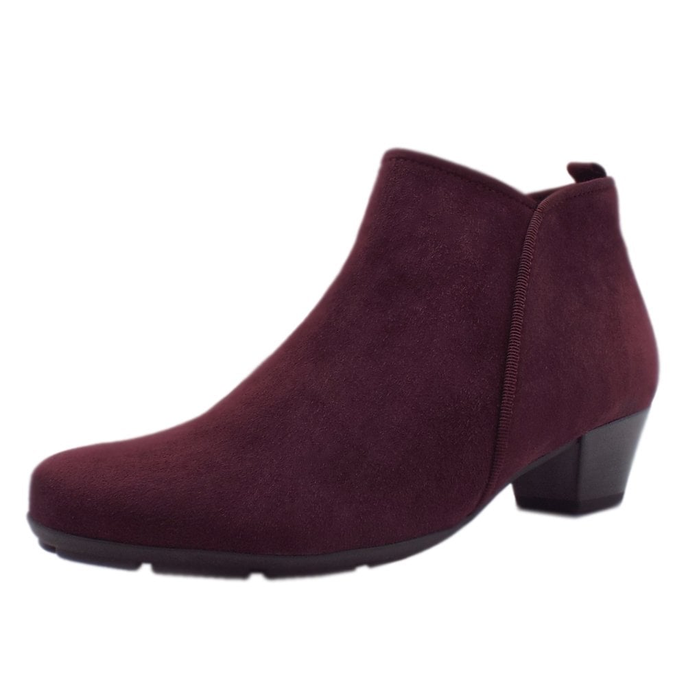 Ladies Chianti Suede Ankle Boots