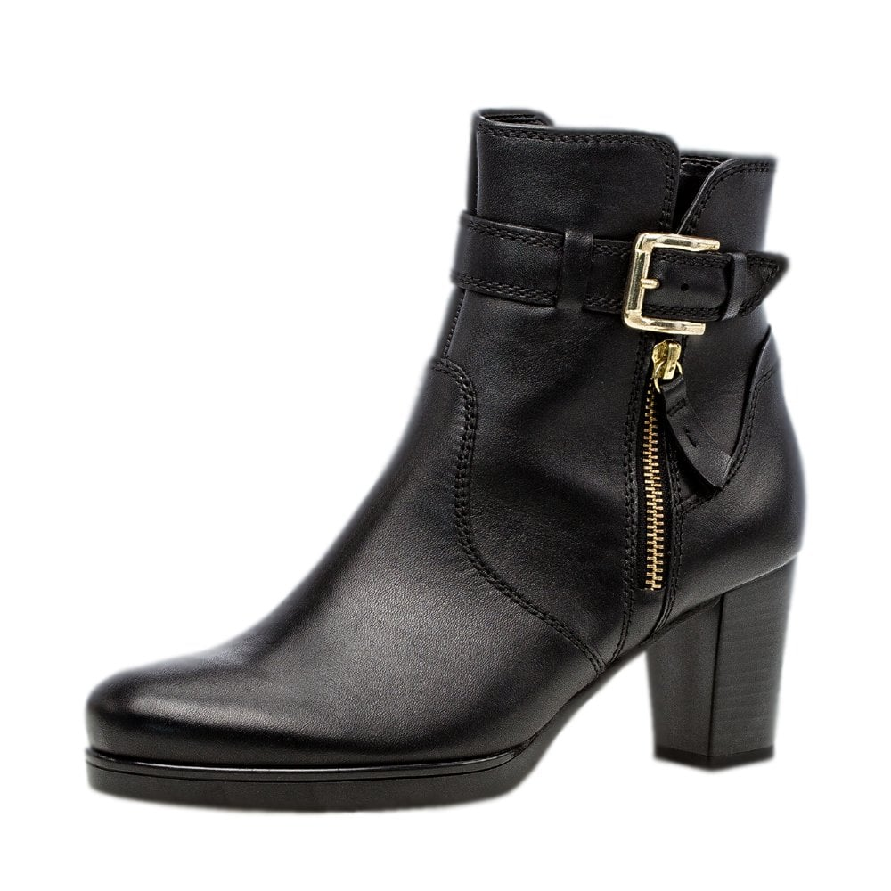 Leather Ankle Boots | Mozimo