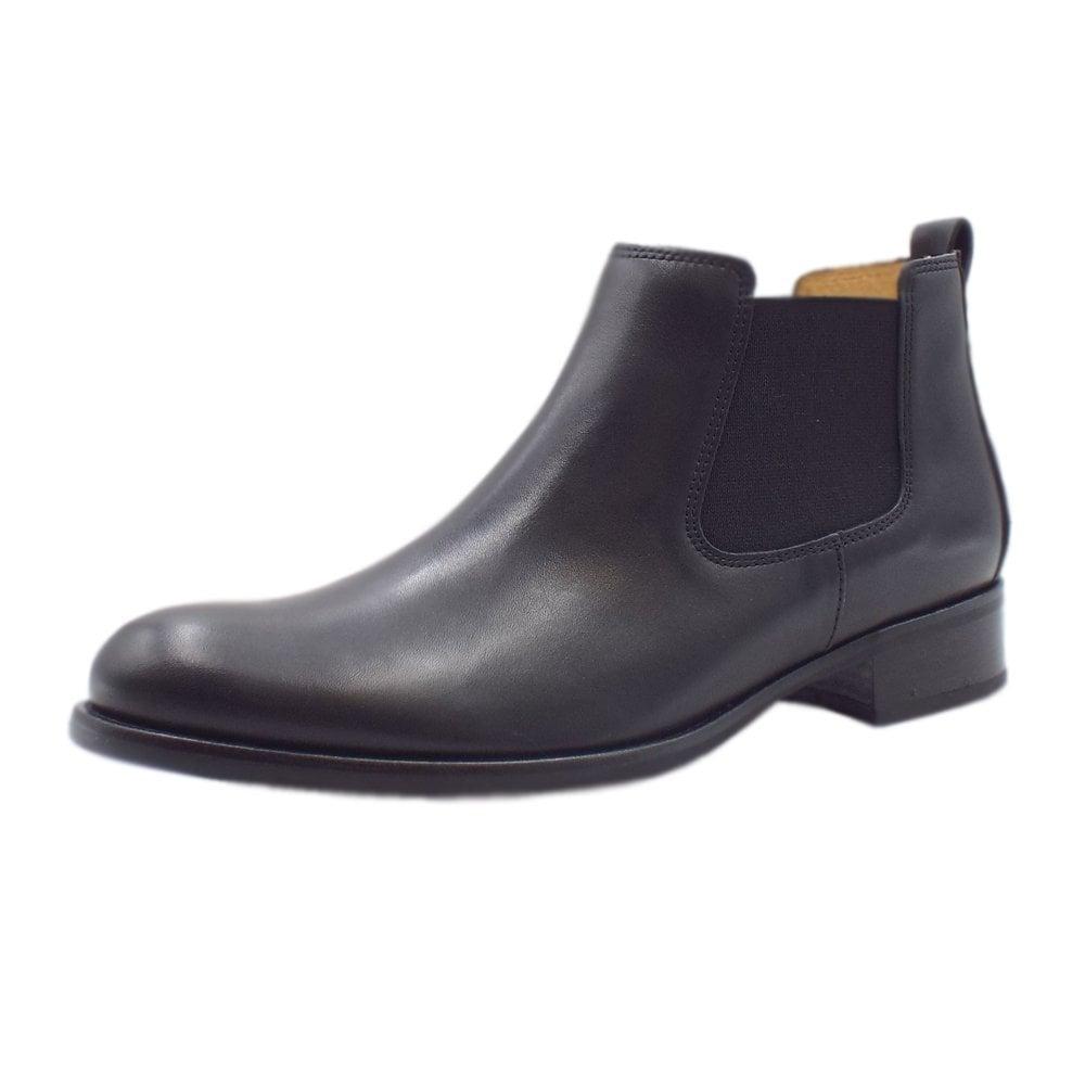 am besten wählen Farben und auffällig Outlet Store Verkauf Gabor Zodiac Chelsea Ankle Boots in Black Leather