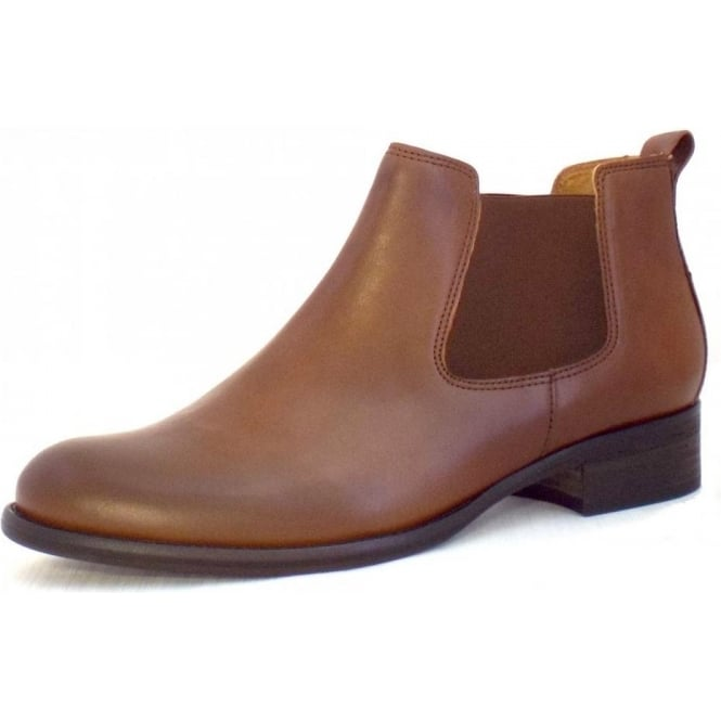 Zodiac Ladies Brown Leather Ankle Boots