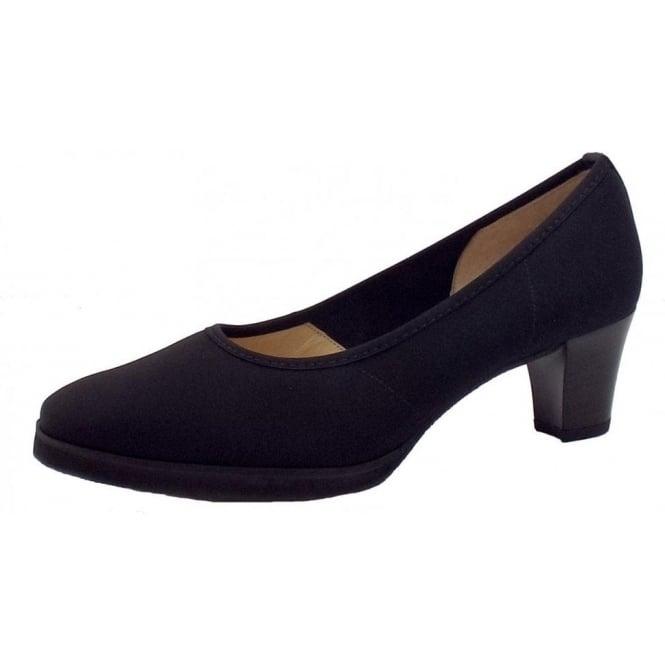 6c4635ae5051 Gedo Wide Fitting Ladies Shoes in Black