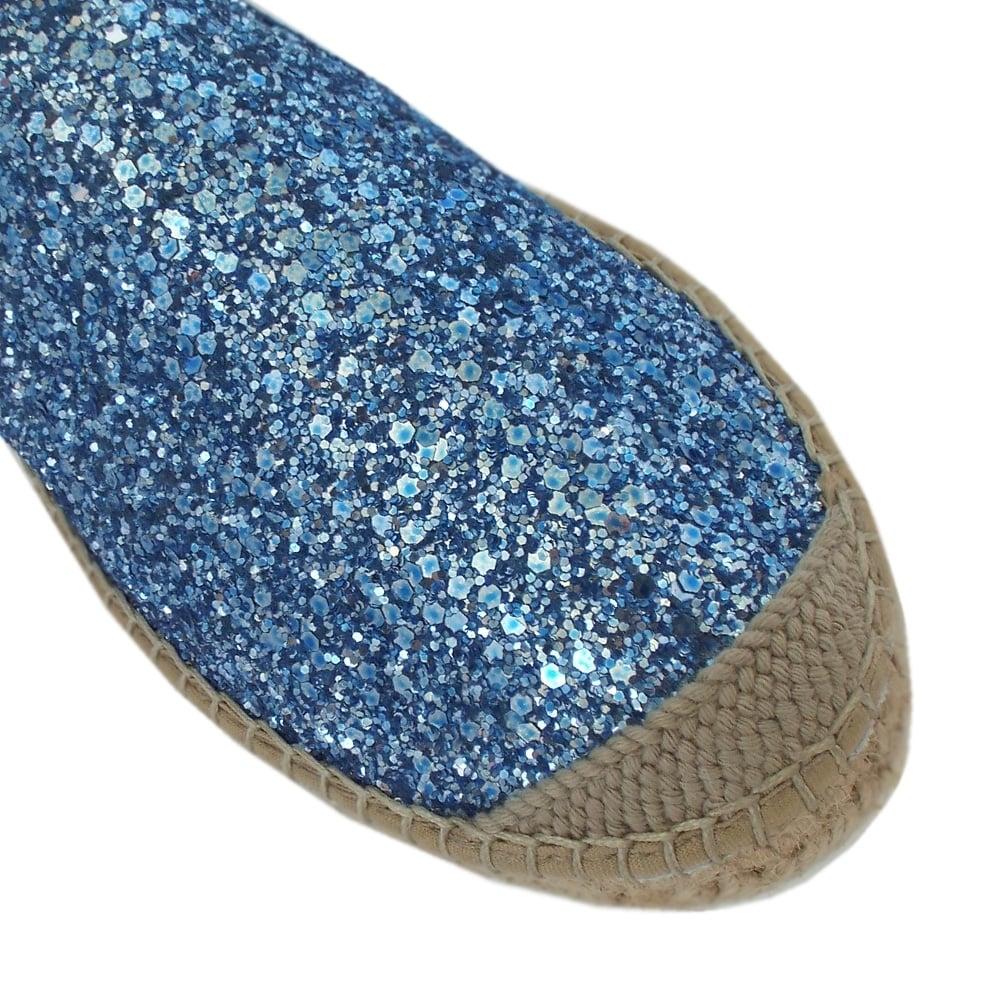 Vidorreta Gerona Sky Blue Handmade Espadrilles