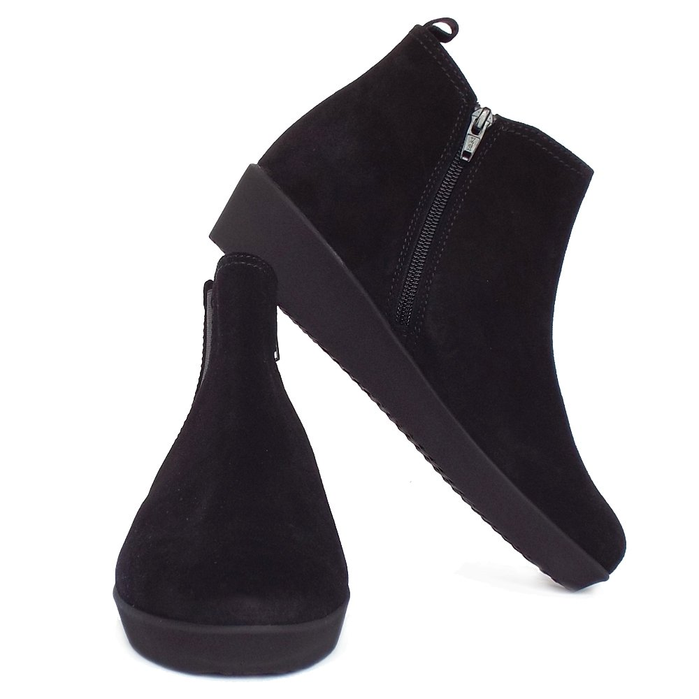 ea68b34d15aa Small Wedge Ankle Boots