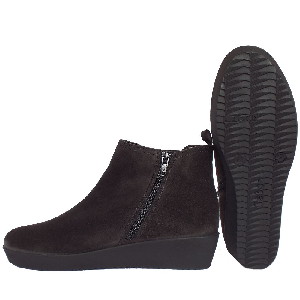 black low wedge ankle boots | Gommap Blog