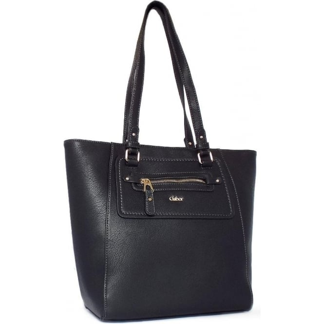 Gabor Gitana Women's Fashion Tote Handbag in Black