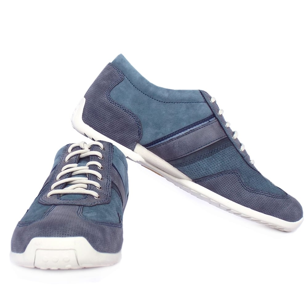 Camel Active Menu0026#39;s Shoes | Gizmo Space Casual Lace-Up Blue ...