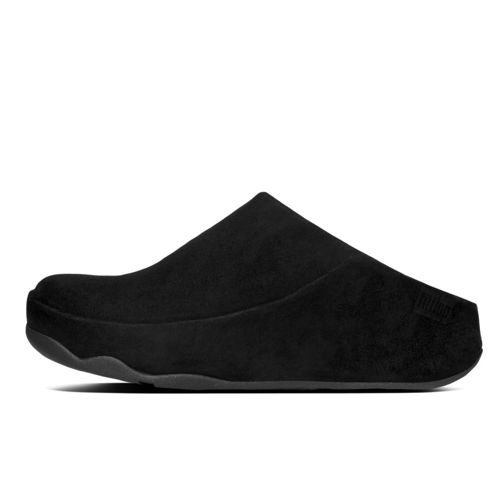 5f45869d2418 Fitflop Gogh Clog Black Suede