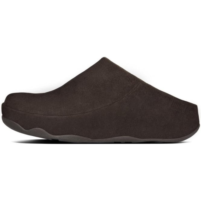 95291bc20a32b5 FitFlop FitFlop Gogh™ Moc Women s Slip On Clogs in Dark Brown Suede