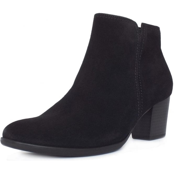 927fe8905 Gabor Ankle Boots | Greene Women's Classic Ankle Boots in Black Suede