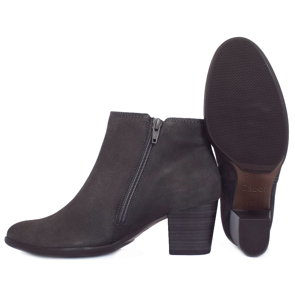 gabor boots greene s classic ankle boots in bronw