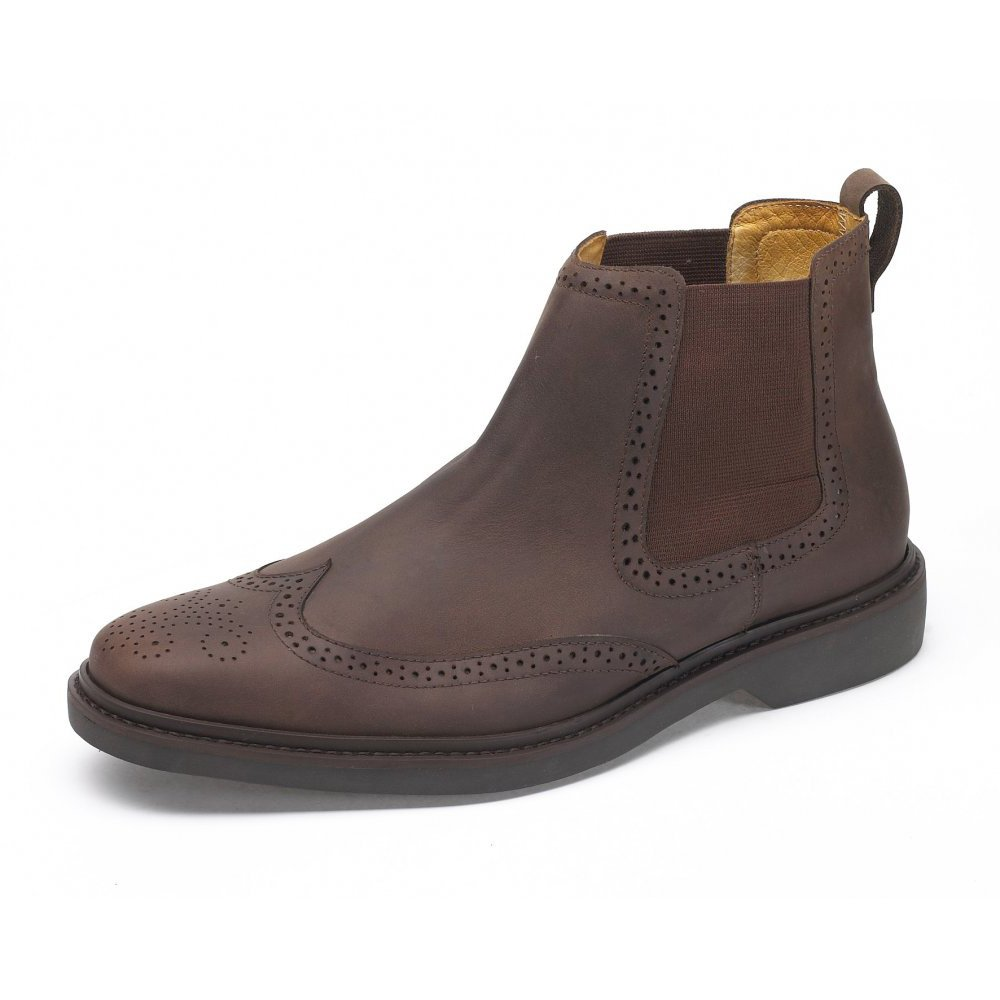 Men&39s Slip On Leather Boots | Homewood Mountain Ski Resort