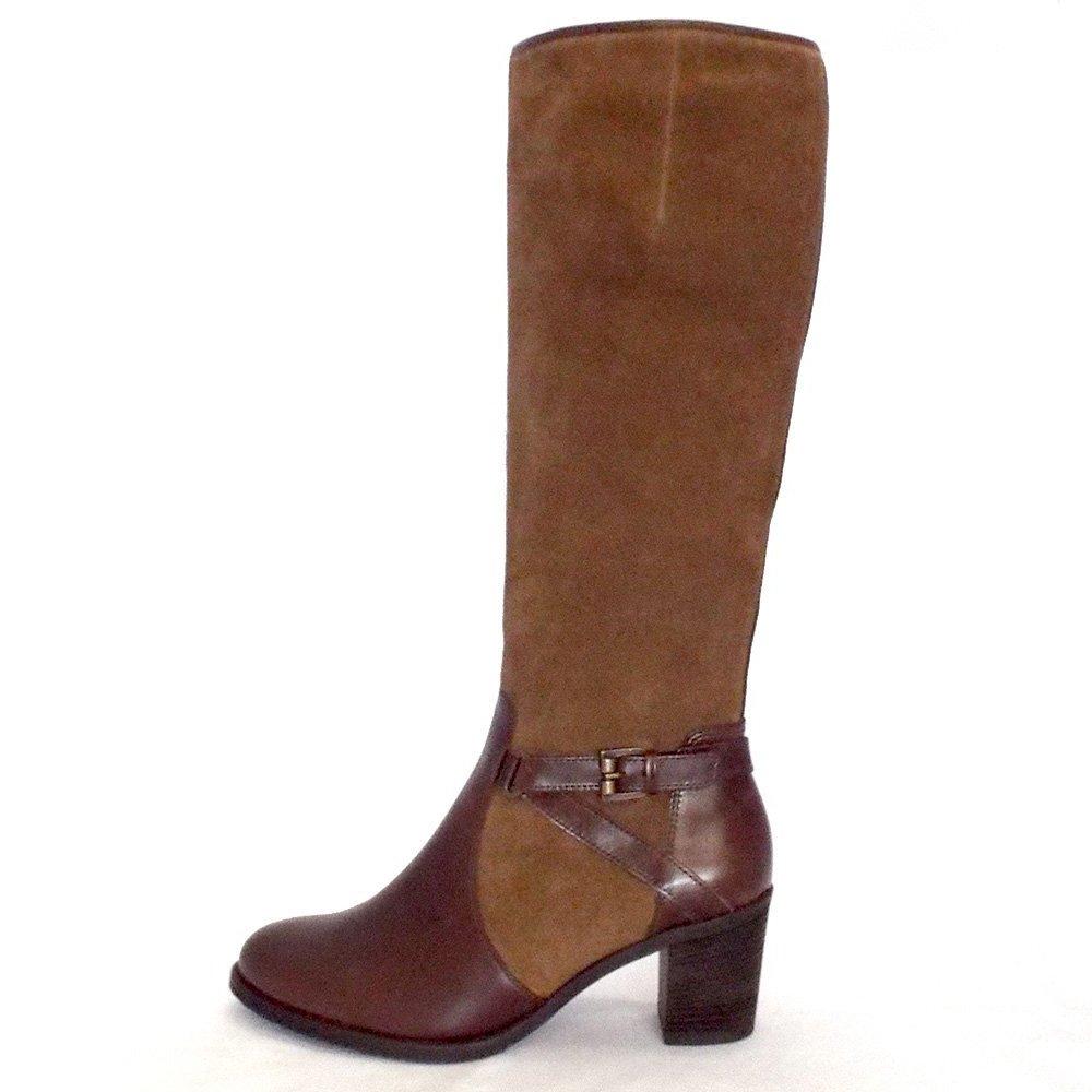 Ladies Shoe Boots Brown Uk