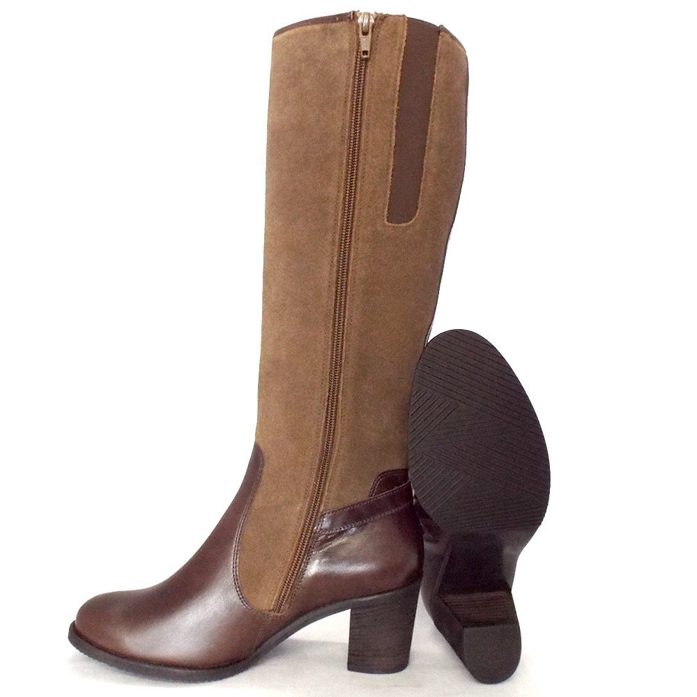 gabor boots gusto boots in brown mozimo