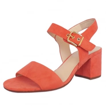 3-10 5522 Sealand Suede Sandals in Water Melon