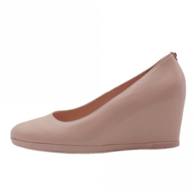 Högl 7-10 5400 Smoothy High Wedge Pumps in Rose