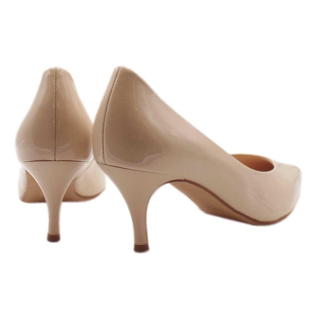 timeless design d6a7d 6f026 7-10 6114 Victory 60 Stylish Pointed Toe Court Shoes in Cotton