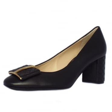 Utkington 2-10 5080 Block Heel Formal Shoes in Black
