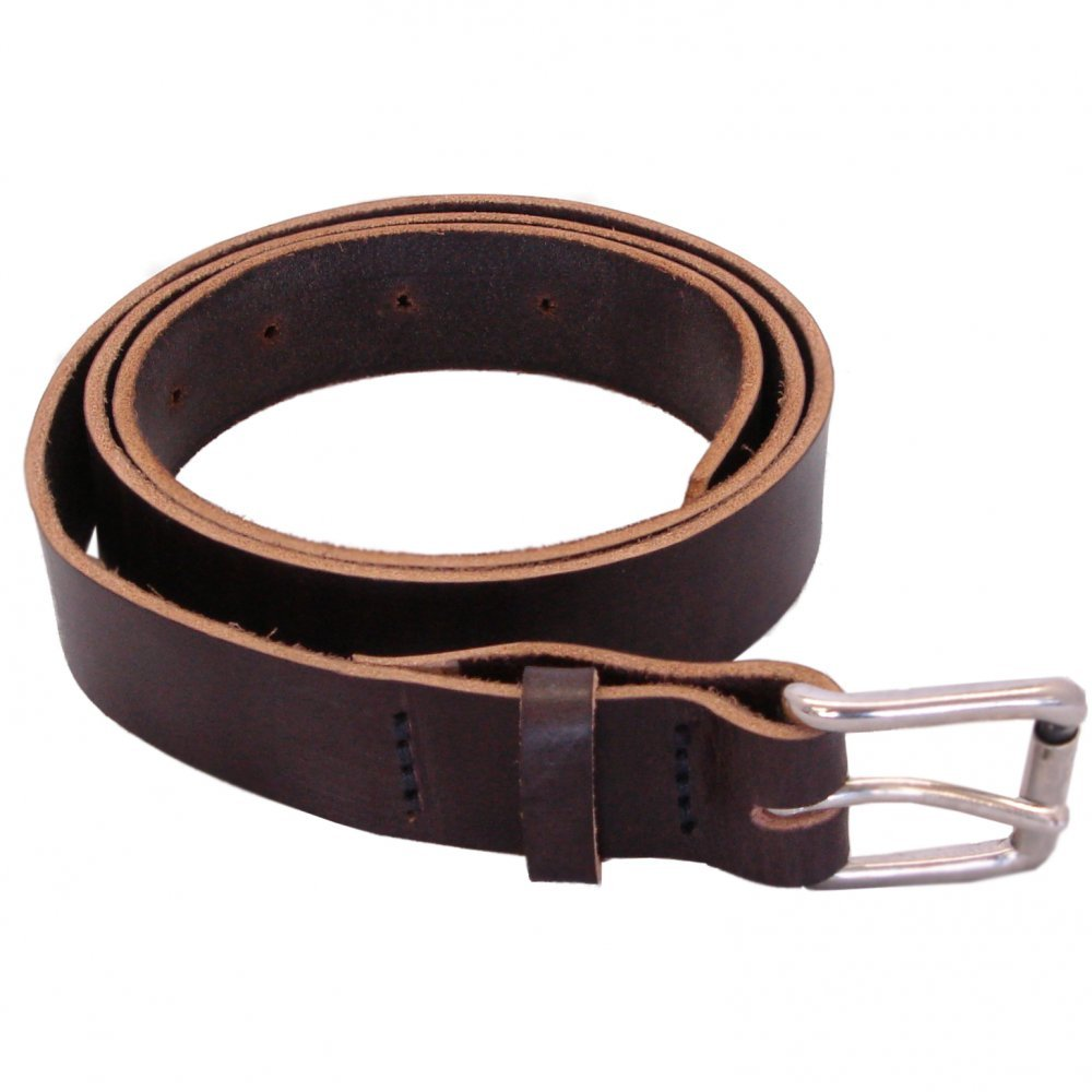 Hamlet Mens Real Leather Belt Havanna Brown Colour