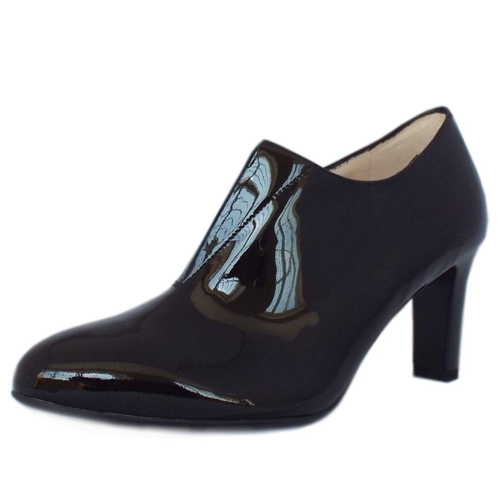 buy popular ab008 ac8ee Peter Kaiser Hanara High Top Trouser Shoes in Black Patent