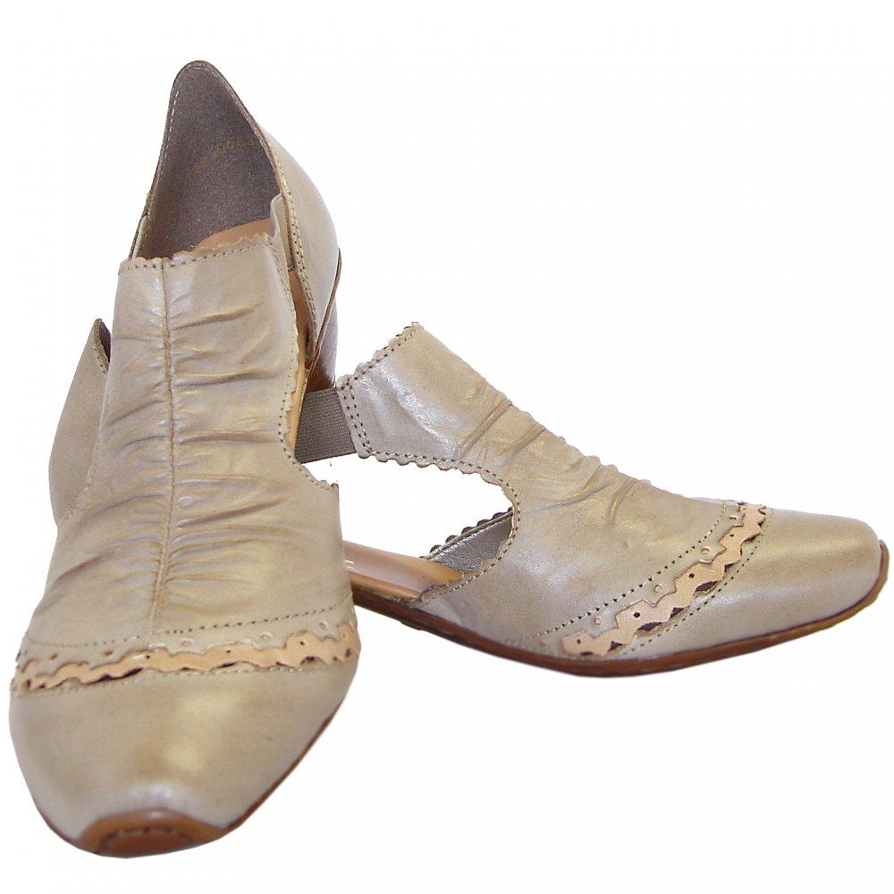 rieker mirjam casual low heel summer shoes in