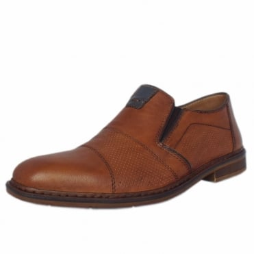 Hemmingway Men's Casual Summer Slip On Shoes In Brown