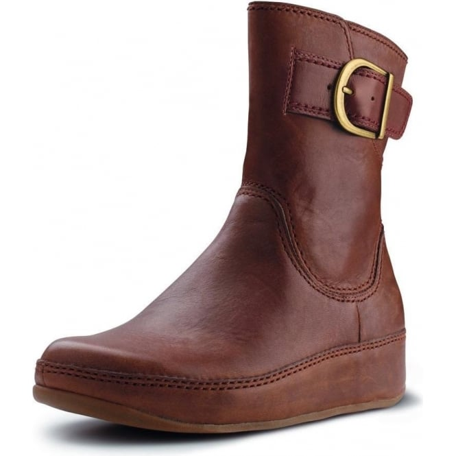 e8c57838176f Hooper short boot in toffee leather