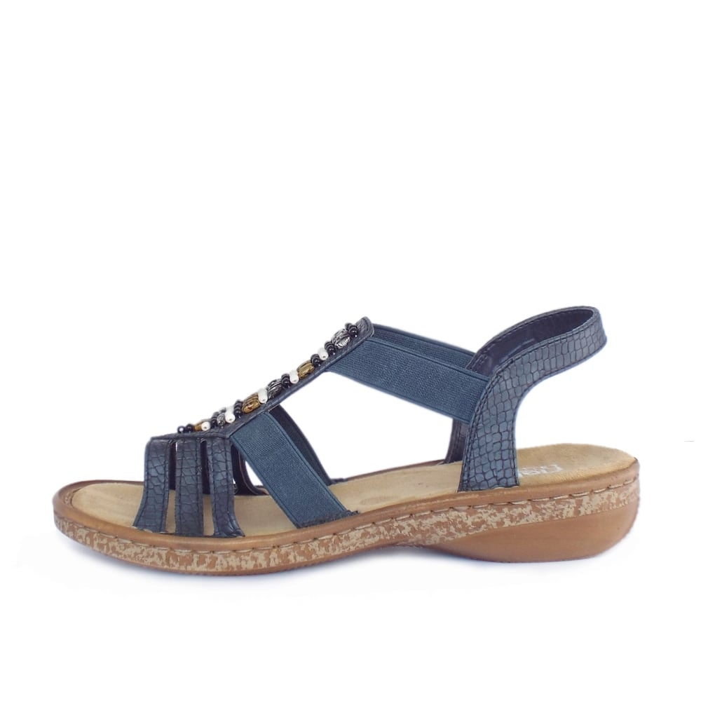 Amazing Stripper Sandles.Shoelace Sandals.Beach Women Sandles.Anchor Sandals.Comfortable Flat Flap-Flop ...