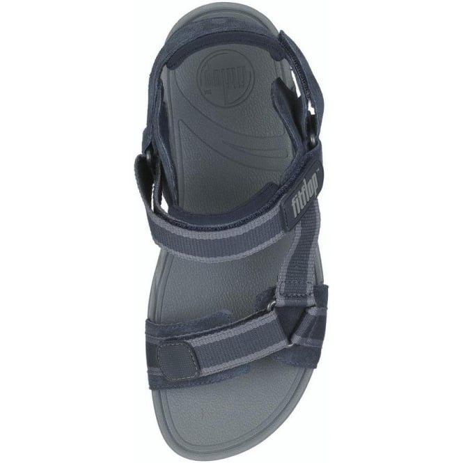 947a6d23692a1 Hyka Women  039 s adjustable sandal in midnight colour