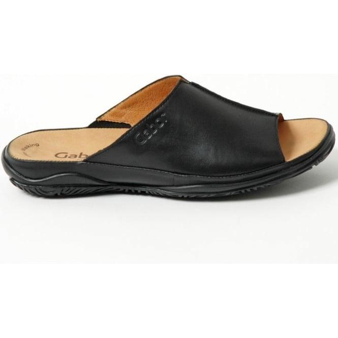 b71b1a9d2 Idol Womens Slip-On Casual Sandal In Black