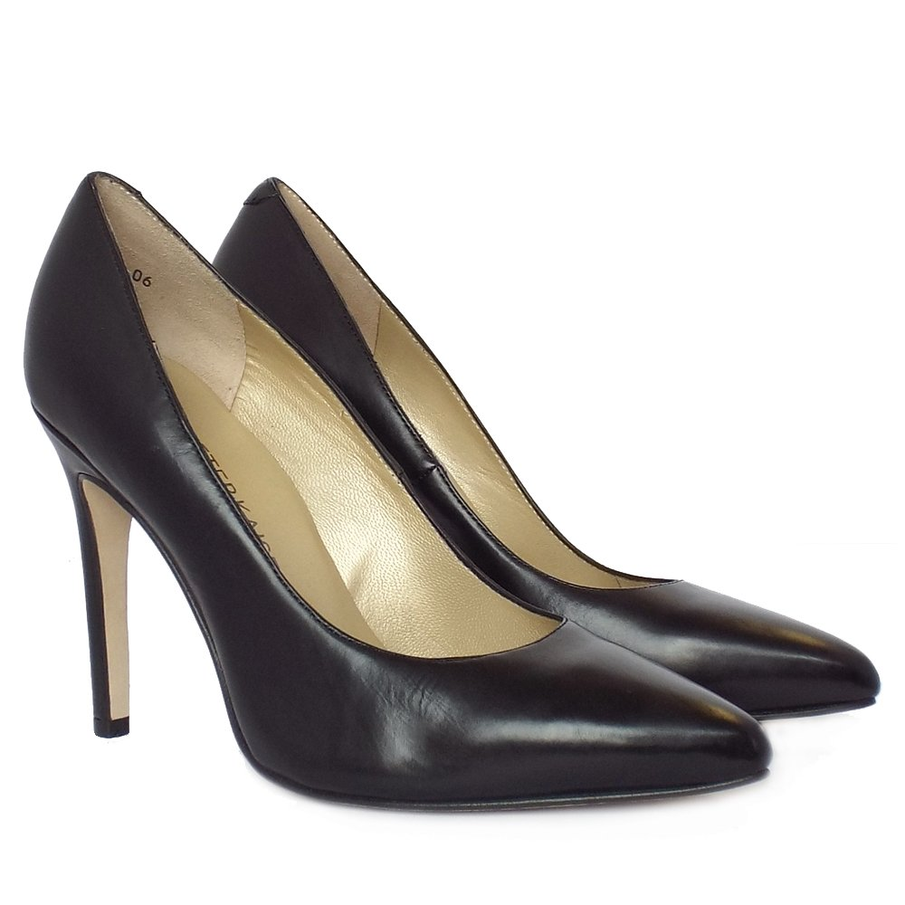Black High Heel Court Shoes Uk