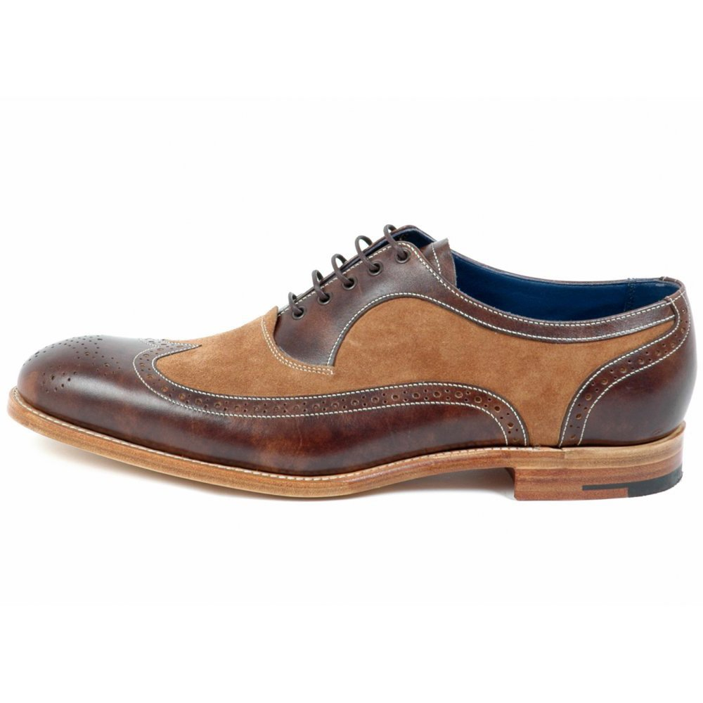 Barker Mens Shoes Jackman Lace Up Oxford From Mozimo