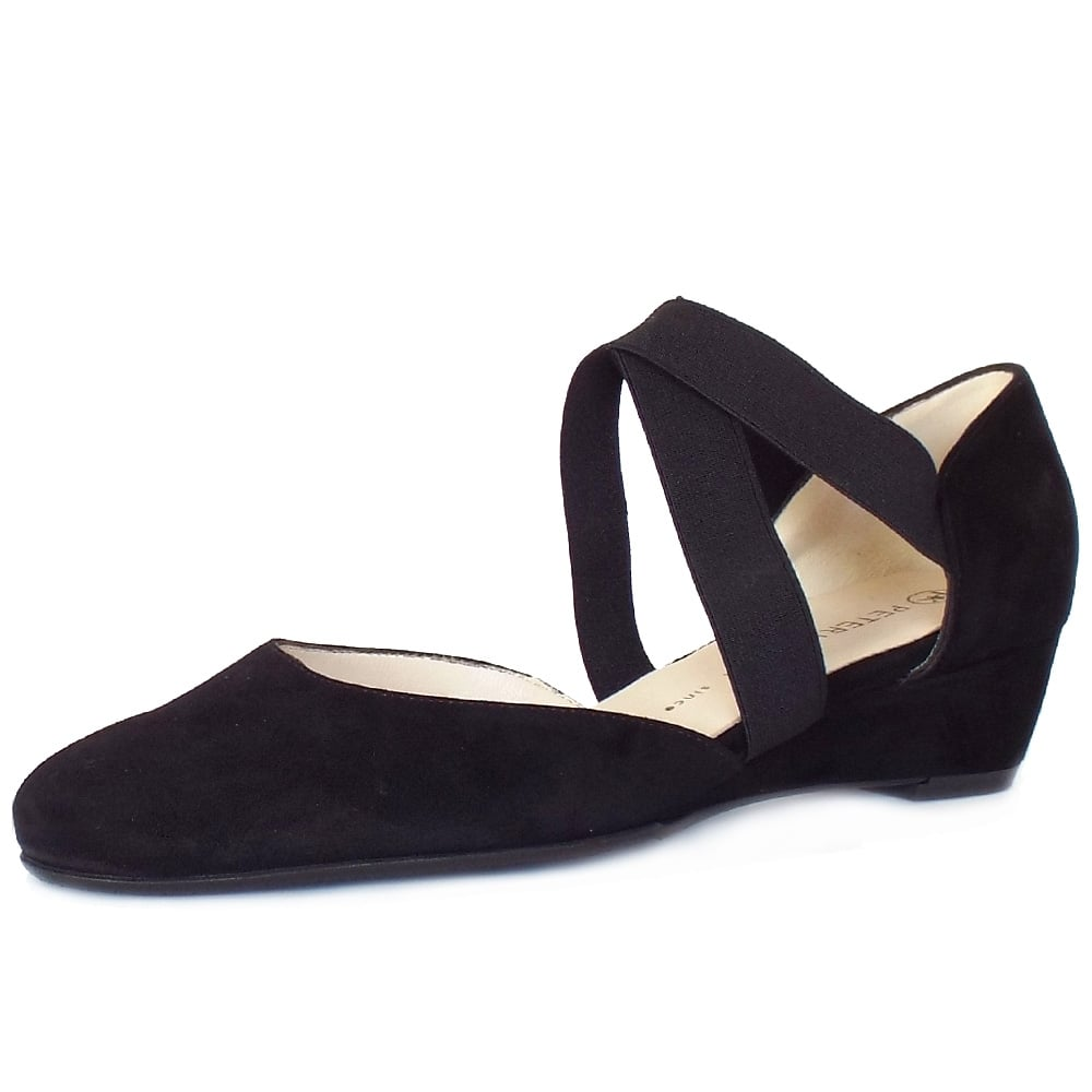 Black shoes in the summer