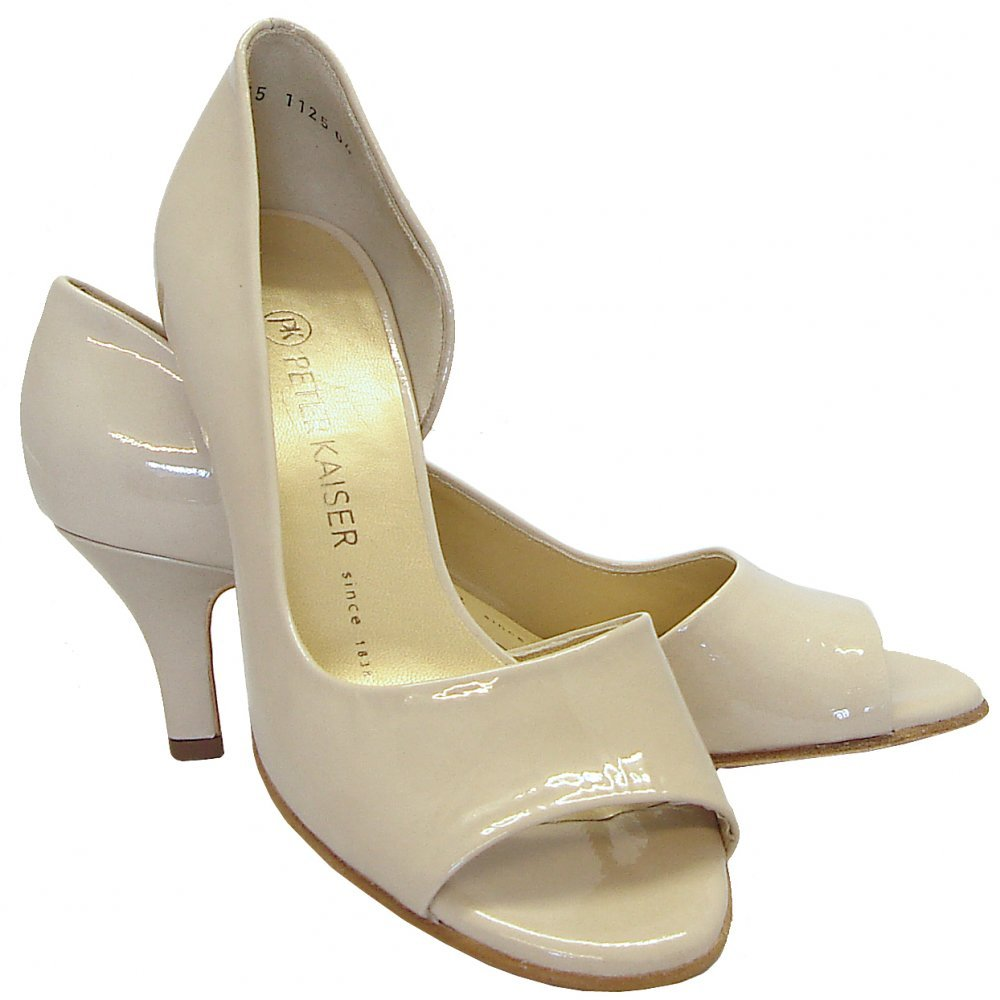 Peter Kaiser Jamala 13 | Open toe shoes in cream lana ...