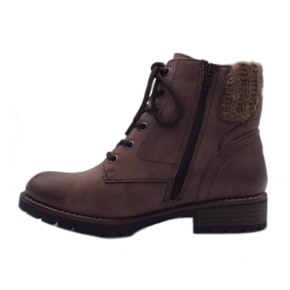 new product 63b64 6a63f 26210 Melbourne Wide Fit Smart-Casual Ankle Boot in Stone