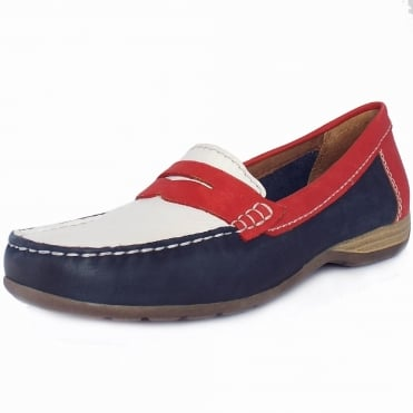 Los Angeles Classic Wide Fit Nautical Style Loafers