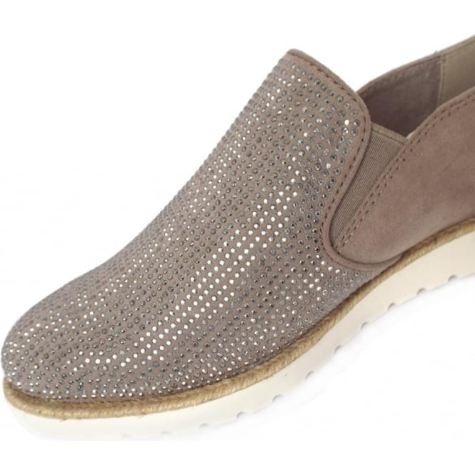 e83730c8645 Oakham Women  039 s Sparkly Sporty Wide Fit Loafers ...