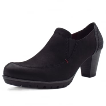 Versailles Shoe Boots in Black Nubuck