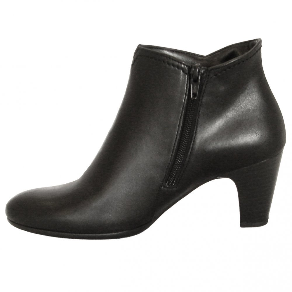 Gabor Boots | Jangle Womens Ankle Boot in Black | Mozimo