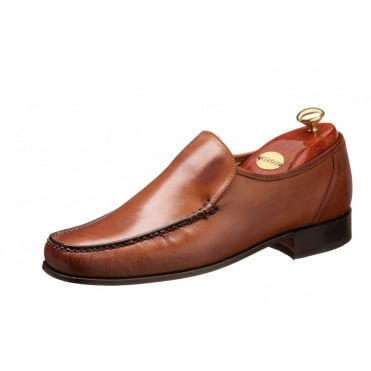 Javron Full Leather Moccasin Style Shoe