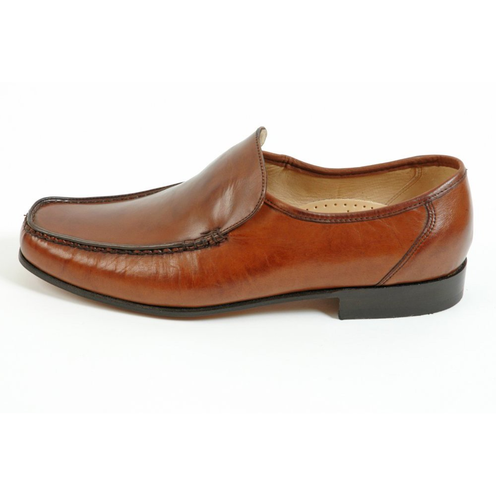 barker mens shoes javron leather moccasin from mozimo