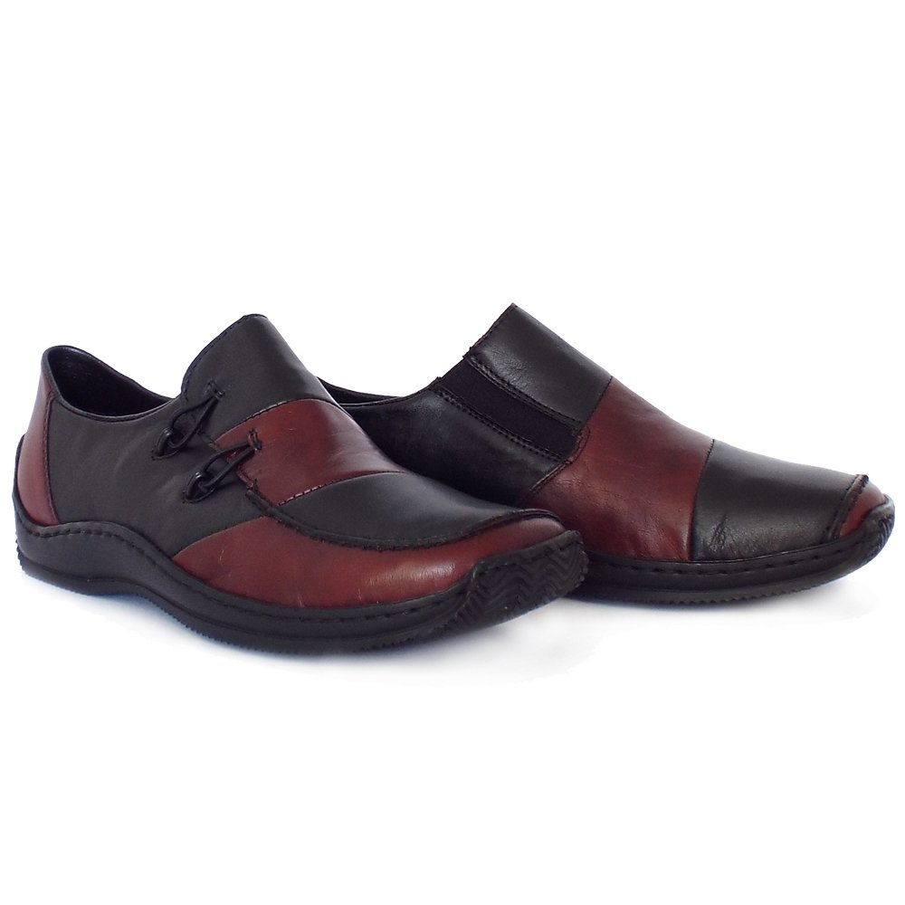 rieker journey l1762 36 comfortable casual slip on