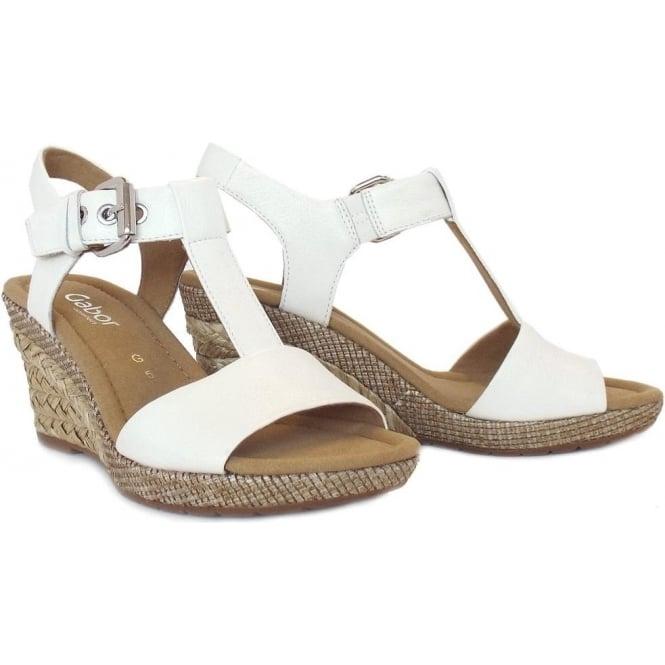 White 'Karen' womens modern sandals outlet the cheapest g7dAlDB