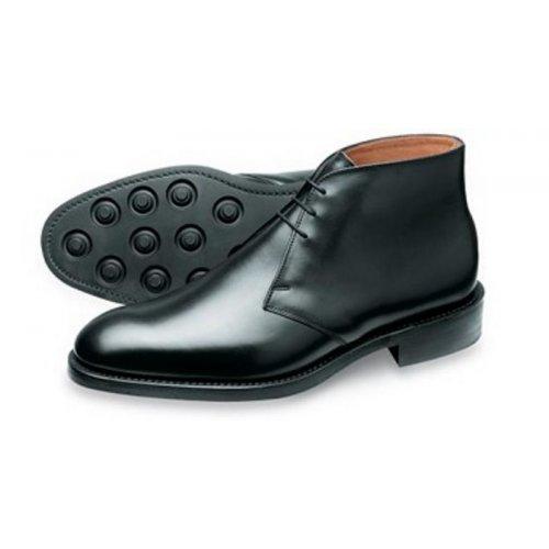 5b6db39f021 Loake Kempton Mens traditional leather chukka boot