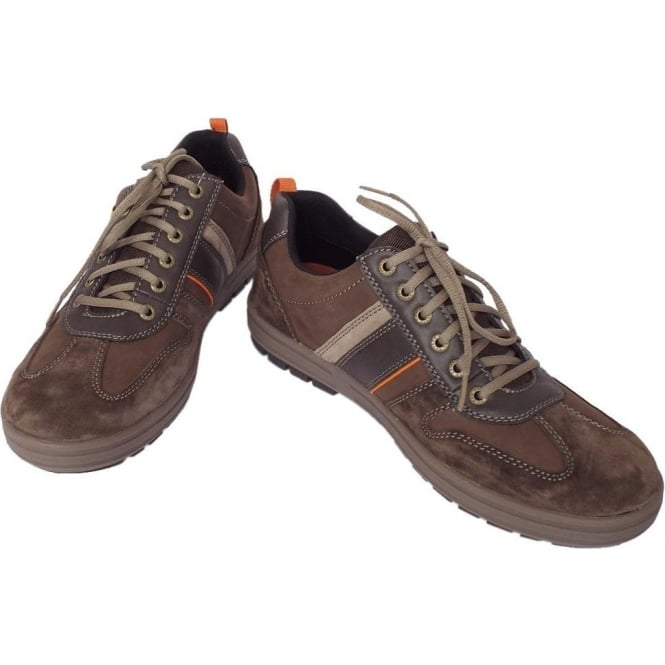 Camel Active Knockout Men's Casual Lace Up Gore Tex Lining Shoes in Mocca