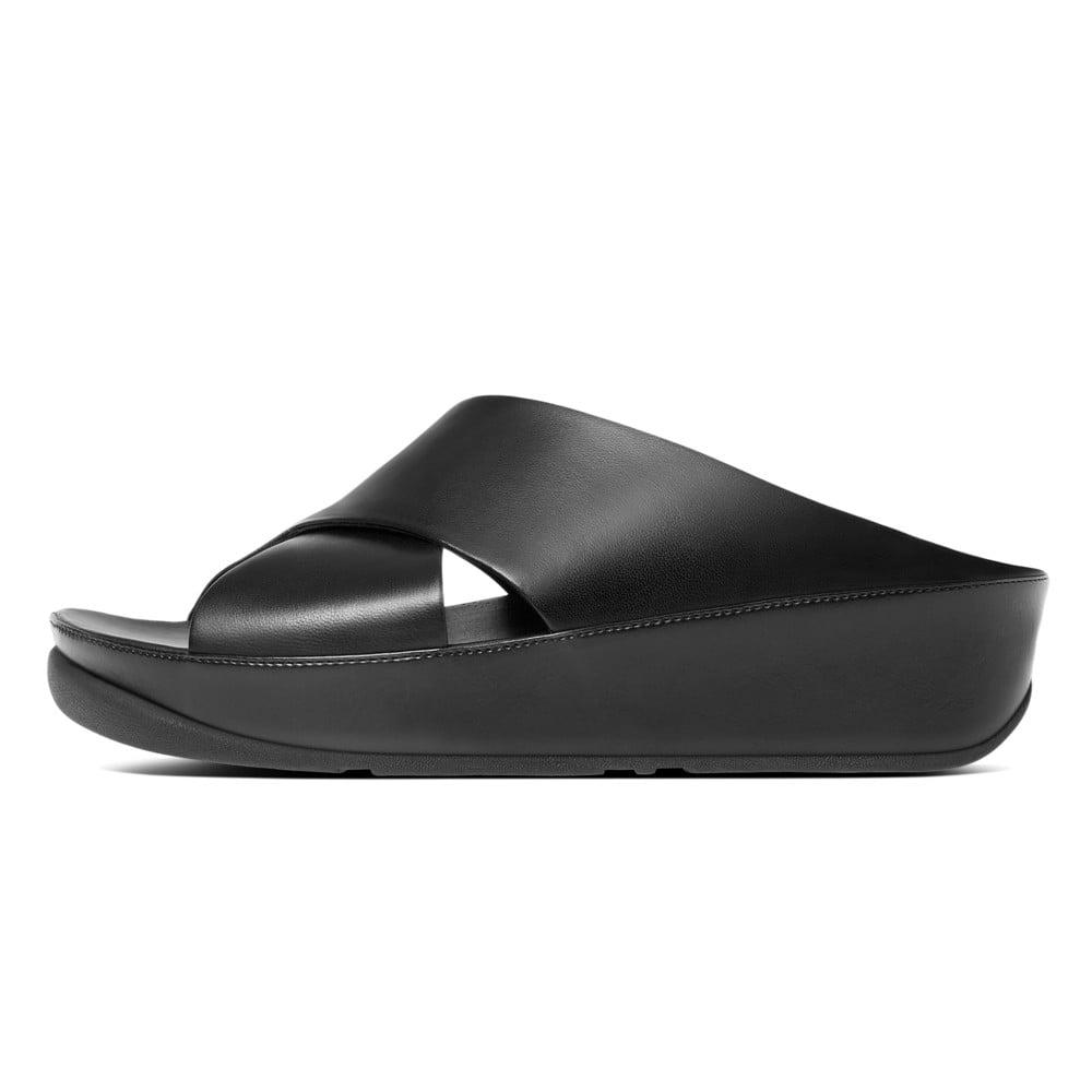 Wonderful Clarks Clarks Leisa Coral Women Leather Black Slides Sandal Sandals