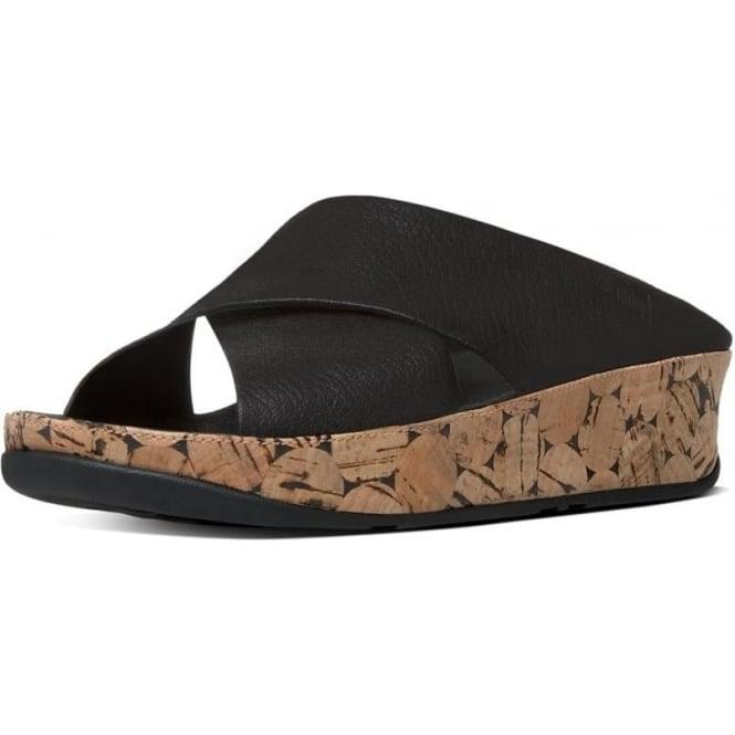 8d984e5e1567 Kys™ Women  039 s Leather Slide Sandals in All Black