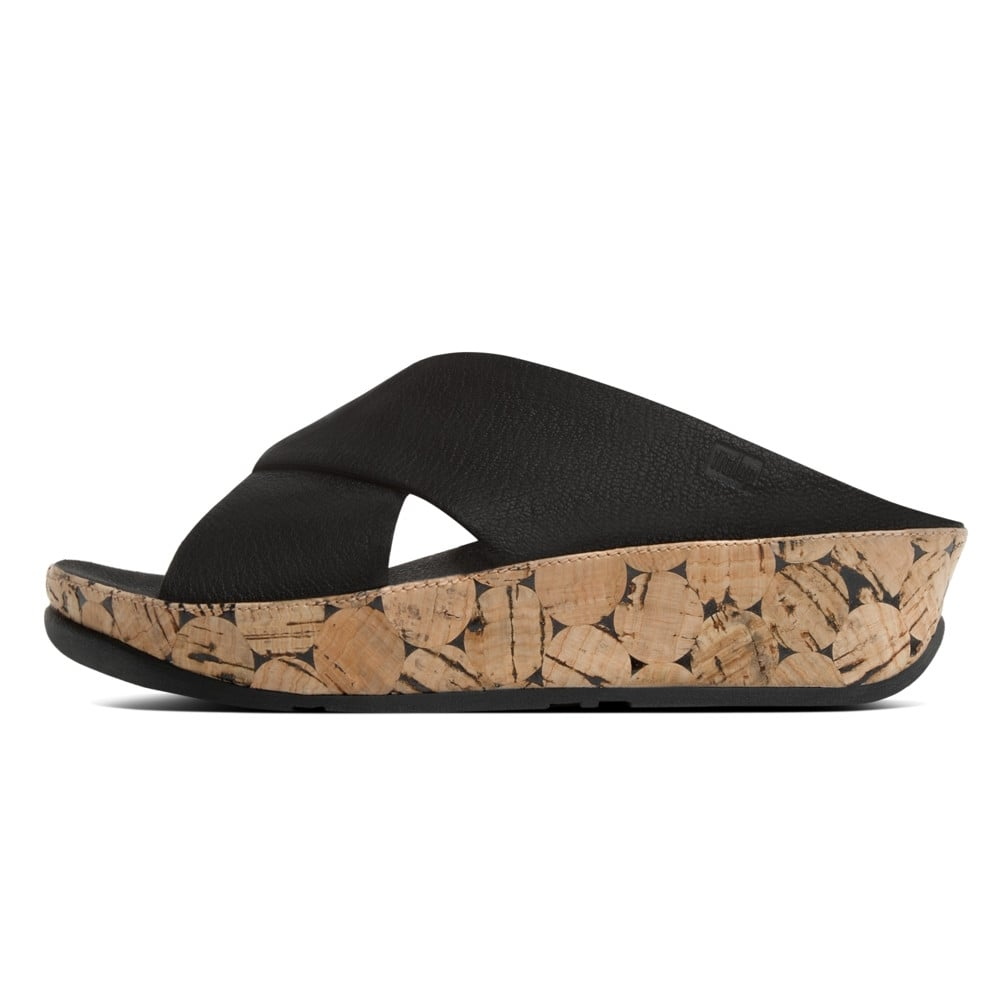 Fitflop Kys Spring Summer 16 Leather Slide Sandals In